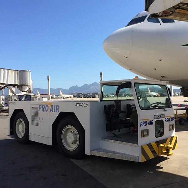 Aircraft Towbarless Tractors