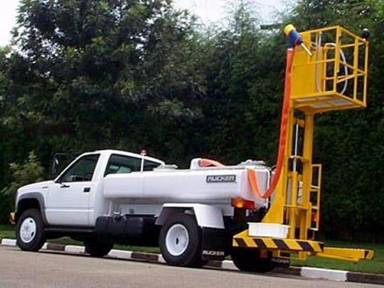 Lavatory Service Vehicle