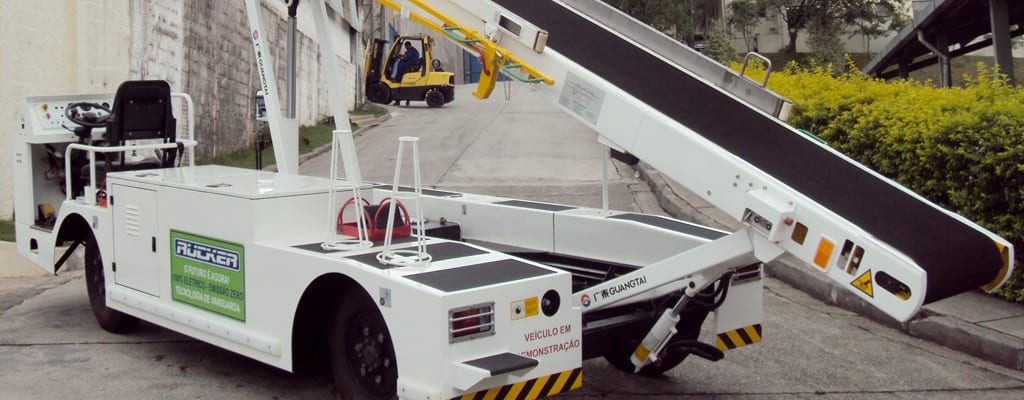 Baggage Conveyor Belt Loader